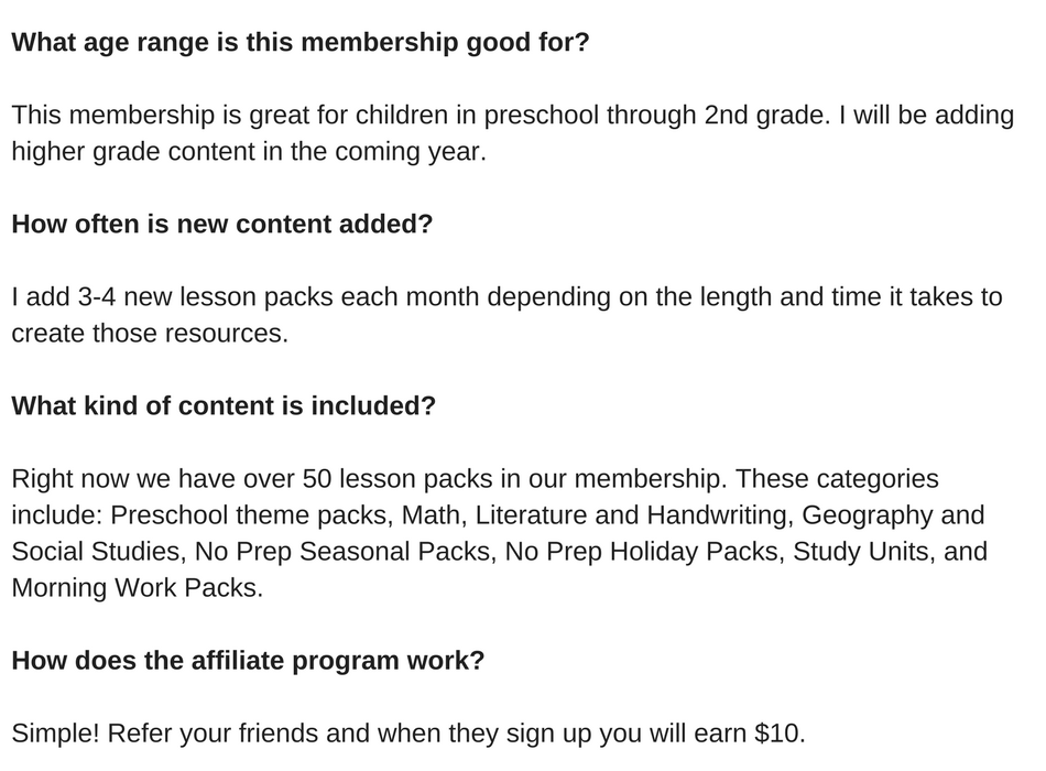What age range is this membership good for_